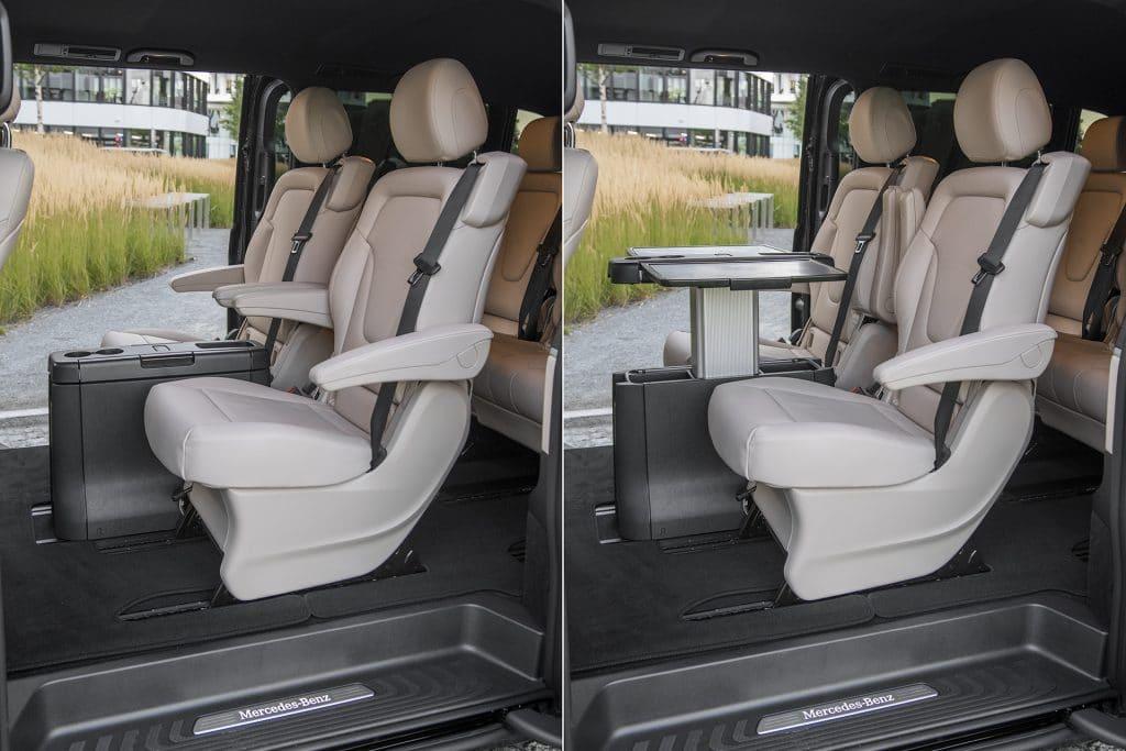 Mercedes V250d Extra Long wnętrze